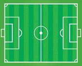 Soccer field . — Stock Vector