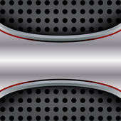 Abstract background, metallic red brochure — Stockvektor