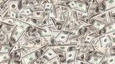 Flying Money - american dollars — Stock Photo