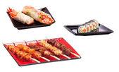 Set of Holiday dinner in asian restaurant — Stock Photo