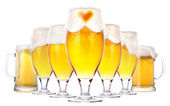 Love beer concept — Stock Photo