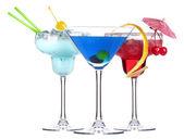 Alcoholic cocktail set — Stock Photo