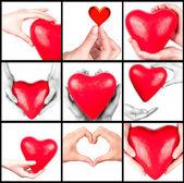 Ubezpieczenia zdrowotnego lub koncepcja miłości — Zdjęcie stockowe