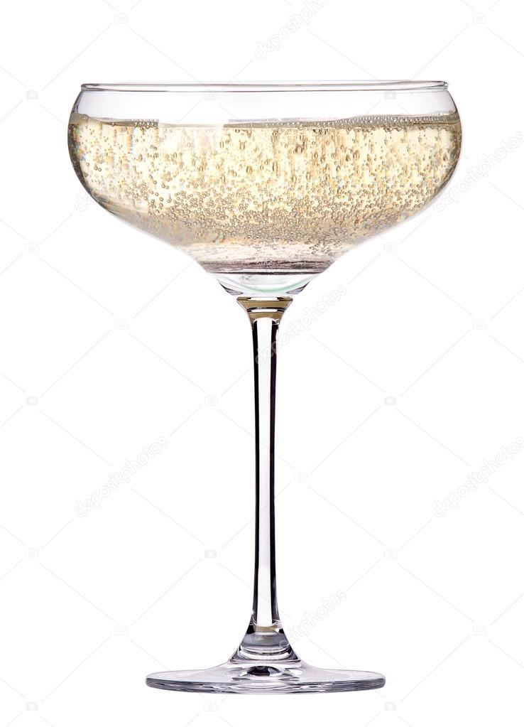 Coupe de champagne isol photographie boule1301 22986568 for Utiliser un coupe verre