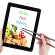 Stock Photo: Online Food Delivery concept