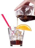 Alcoholic cocktail — Stock Photo