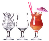 Alcoholic cocktail set — Stock Photo