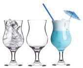 Conjunto coquetel alcoólico — Fotografia Stock