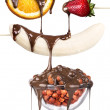 Stockfoto: Tasty dessert collage
