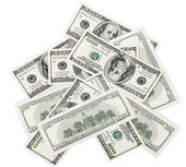 Background with money american dollars — Foto Stock