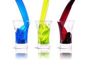 Set of alcoholic cocktails — Stock Photo