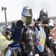 Medieval knights in battle — Stock Photo #25478751