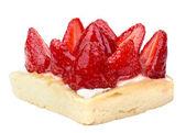 夏季水果的美味甜点的特写 — 图库照片