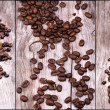 Coffee background — Stock Photo #26532763