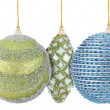 Christmas ball set isolated — Foto de Stock