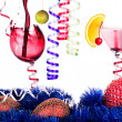 Christmas alcohol drinks set — Stock Photo #33130635