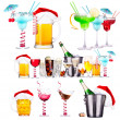 Different images of alcohol — 图库照片