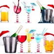 Different images of alcohol — Foto de Stock