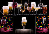 Different images of alcohol — Stockfoto