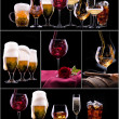 Different images of alcohol — Lizenzfreies Foto