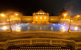 Szechenyi spa bath, Budapest, Hungary — Stock Photo
