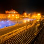 Szechenyi spa bath, Budapest, Hungary — Stock Photo #39794539