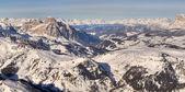 Winter mountains in Italian Alps — Stock Photo