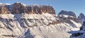 Winter mountains in Italian Alps — Zdjęcie stockowe