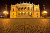 The National Theater in Prague — Stock Photo