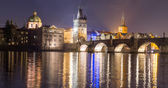 View of Bridge Tower in Prague — Foto de Stock