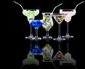 Alcohol cocktail set — Stock Photo
