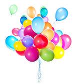 Ballons volants isolés — Photo