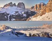 Collage de montaña — Foto de Stock