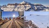 Mountain Collage — Stock Photo