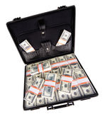 Case full of dollar — Foto Stock