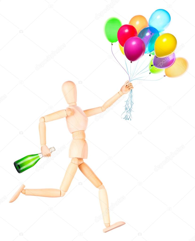 http://st.depositphotos.com/1616053/4574/i/950/depositphotos_45745137-Wooden-Dummy-holding-flying-balloons-and-champagne.jpg