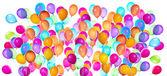 летающие шары изолированные — Стоковое фото