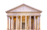Pantheon view. Rome, Italy, isolated — Stock Photo