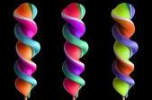 Bright colorful lollipop set — Stock Photo