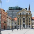 Congress square Ljubljana — Stock Photo
