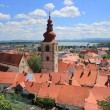 Old town center of Ptuj, Slovenia — Stock Photo