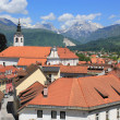 Stock Photo: Old town center of Kamnik, Slovenia