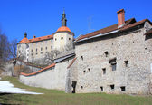 Skofja Loka castle, Slovenia — Stock Photo
