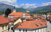 Old town center of Kamnik, Slovenia — Stock Photo