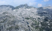 Krn Mountains landscape, Julian Alps, Slovenia — Stock Photo
