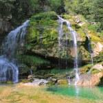 Wirje waterfall, Julian Alps, Slovenia — Stock Photo #30494543
