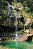 Wirje waterfall, Kanin mountains, Slovenia — Stock Photo