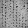 Stock Photo: Cobblestone pavement pattern background