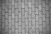 Cobblestone pavement pattern background — Stock Photo