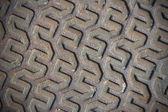 Skewed metal pattern background — Stock Photo